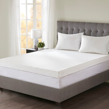 "4"" Gel Memory Foam with 3M Cover Mattress Topper"