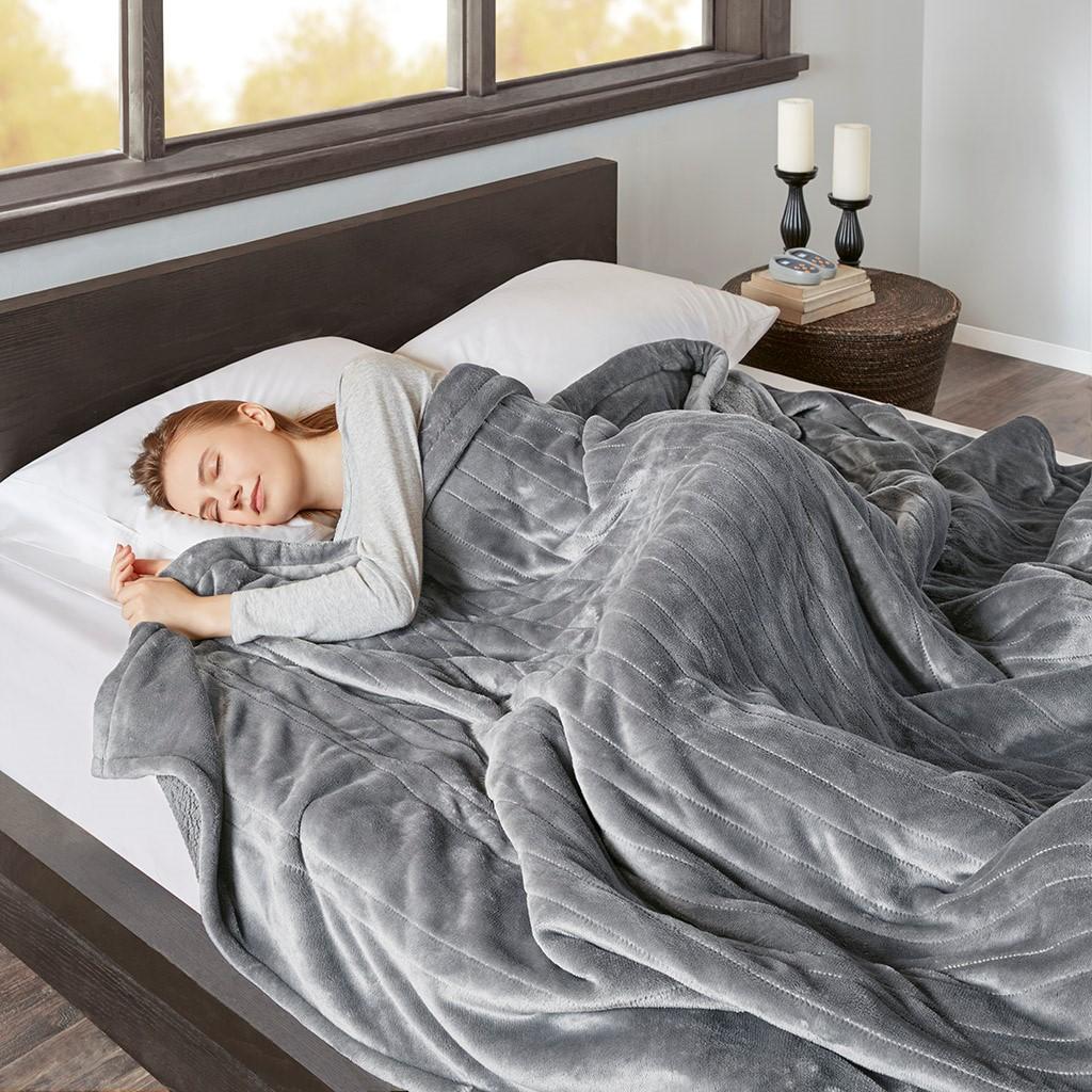 Beautyrest Heated Microlight to Berber Blanket.