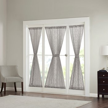 Irina Diamond Sheer Door Panel