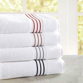 Elloy Embroidered Cotton Towel Set
