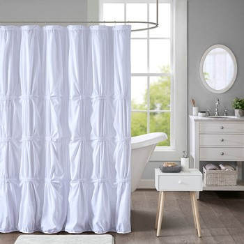 Benny Printed Shower Curtain