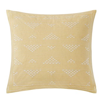 Cario Embroidered Square Pillow