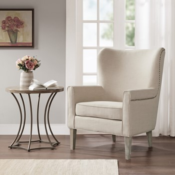 Colette Accent Wingback Chair
