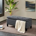 Madison Park Shandra II Tufted Top Storage Bench