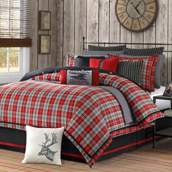 Williamsport Plaid Comforter Set