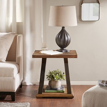 Weston X Base End Table