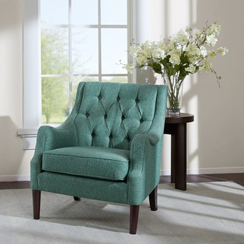 Qwen Button Tufted Chair