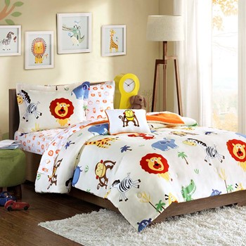Safari Sam Complete Bed and Sheet Set