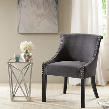 Caitlyn Roll Back Accent Chair