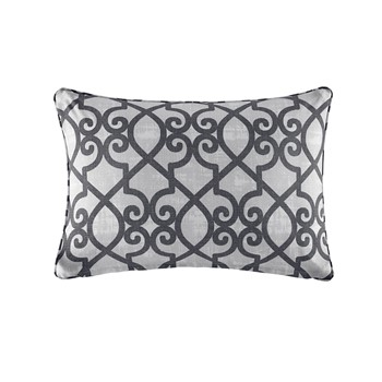 Daven Fretwork 3M Scotchgard Outdoor Oblong Pillow