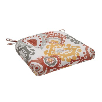 Laguna Printed Medallion 3M Scotchgard Outdoor Seat Cushion