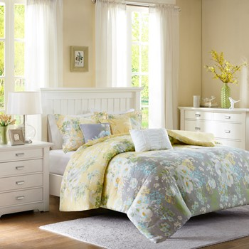 Hannah 6 Piece Duvet Cover Set