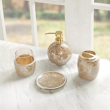 Mosaic 4 Piece Bath Accessory Set