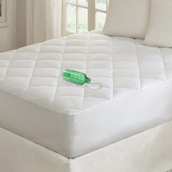 Quiet Nights Waterproof Cotton Mattress Pad