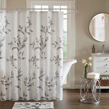 Cecily Printed Shower Curtain