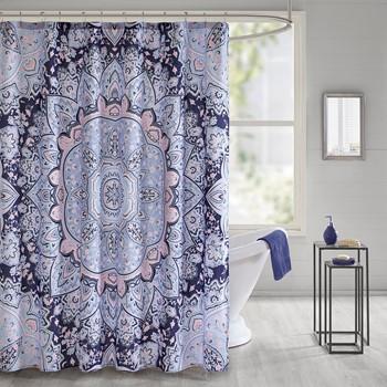 Odette Printed Shower Curtain