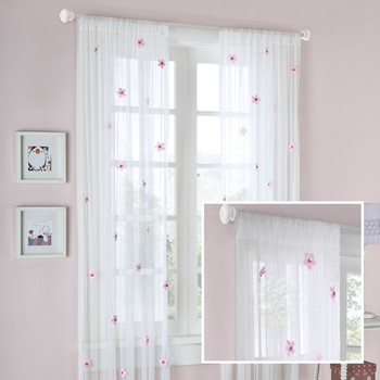 Lily Lily Allover Flower Curtain