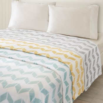 Chevron Plush Blanket