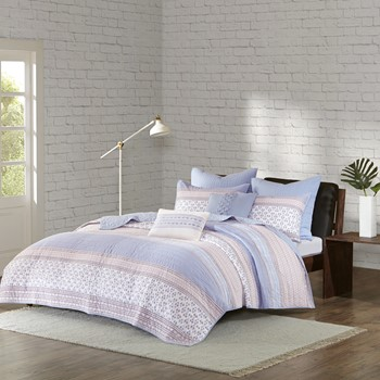 Sophie 7 Piece Cotton Coverlet Set