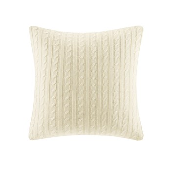 Buckley Cable Knit Euro Sham Ivory