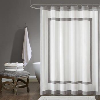 Greyson Cotton Shower Curtain